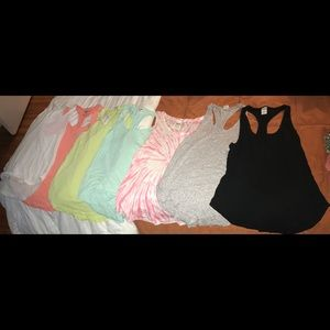 SEVEN PINK TANK TOPS